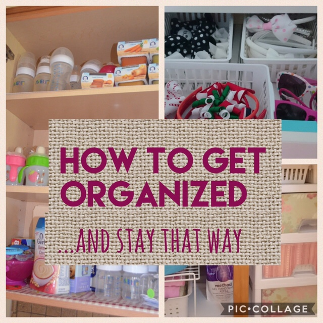 Getting organized: how to organize your closets and keep them that way! (Part One)
