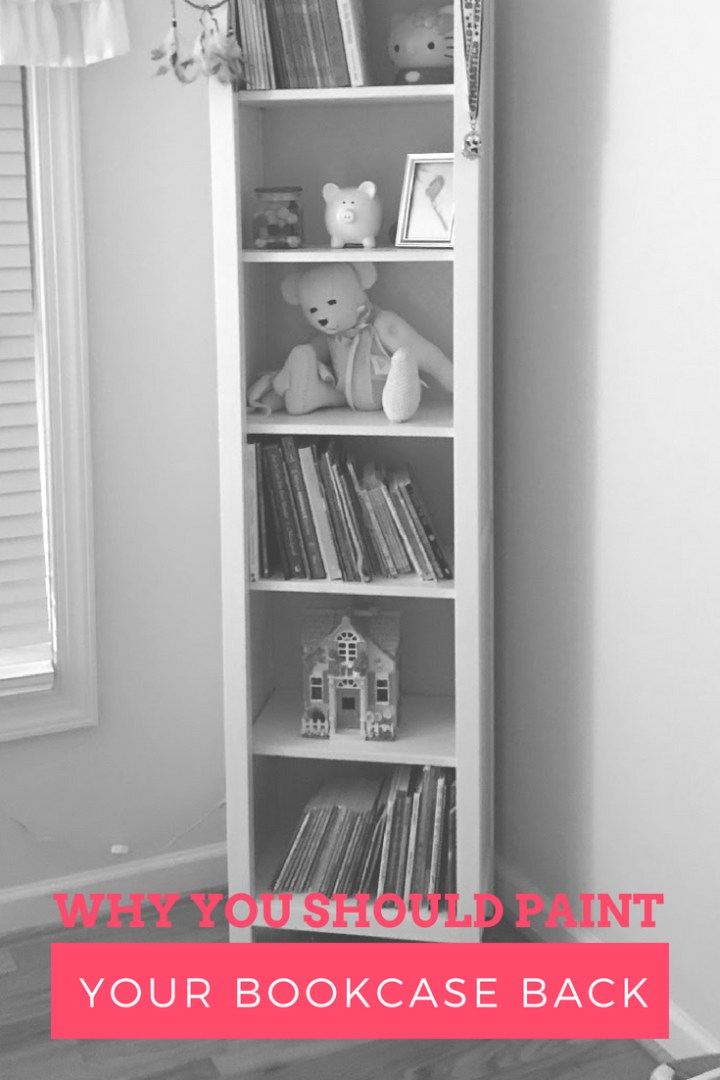 Why you should paint your bookcase back