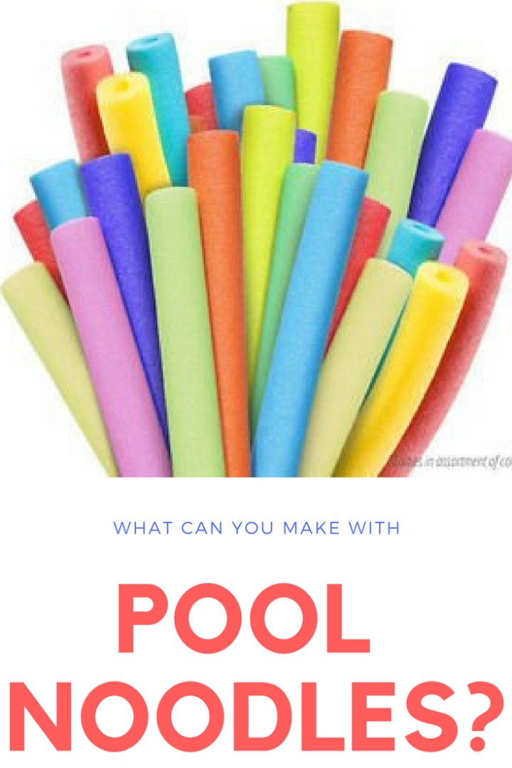 What can you make with pool noodles?