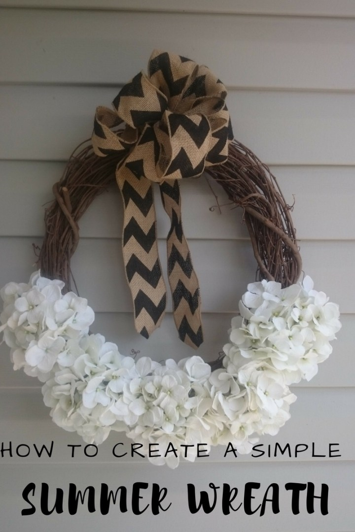 Make it Monday: an easy summer wreath