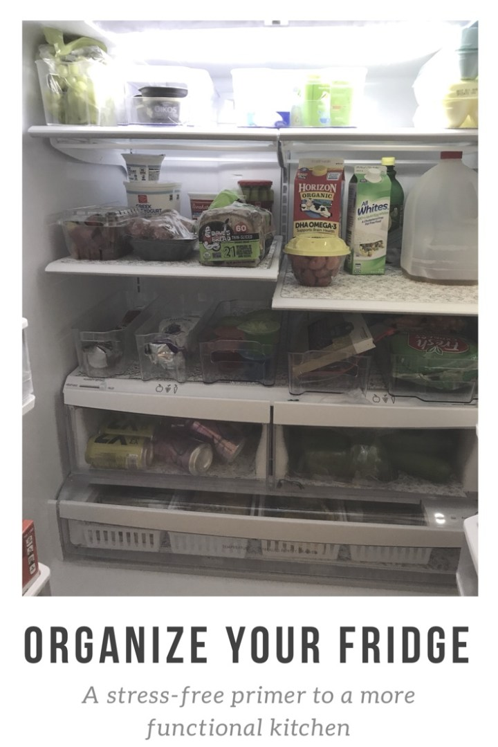 Organize your fridge: a stress-free approach to simplifying your kitchen