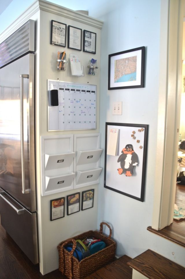Organize your time with a family command center