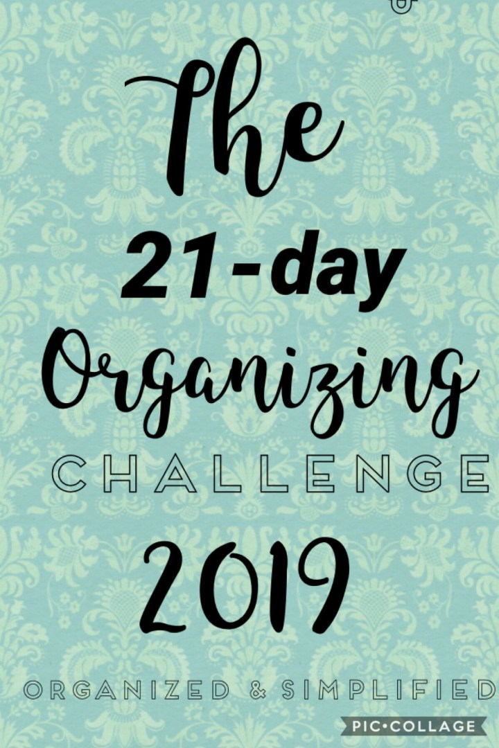 21-day challenge: pantry organization