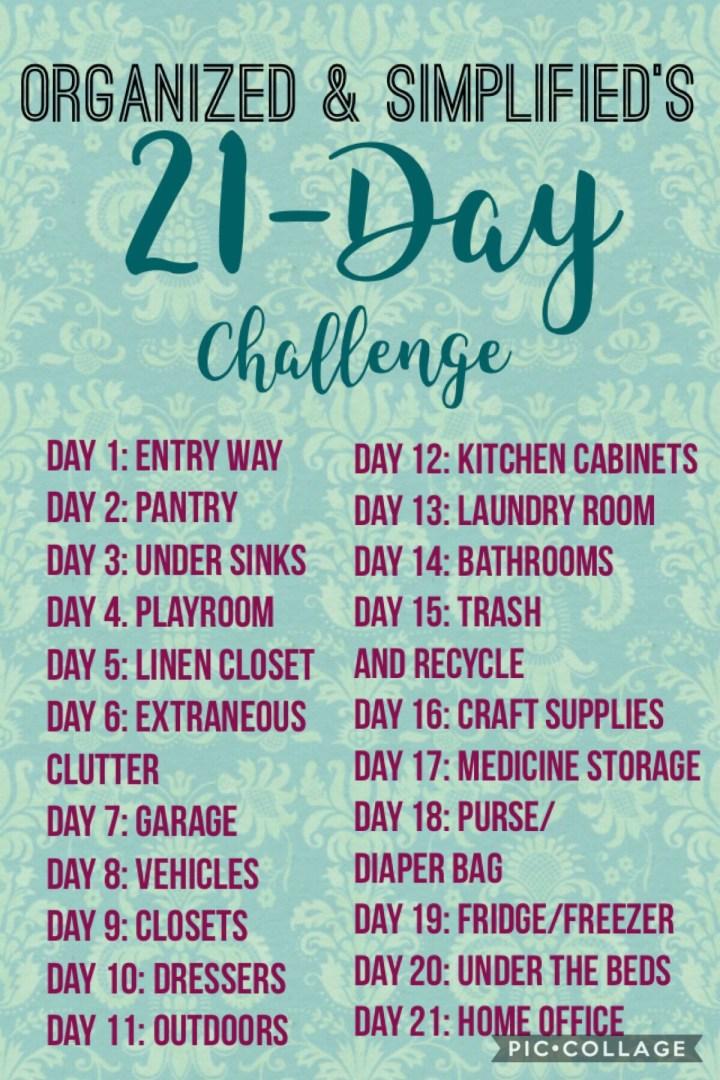 21-day challenge: an organized linen closet
