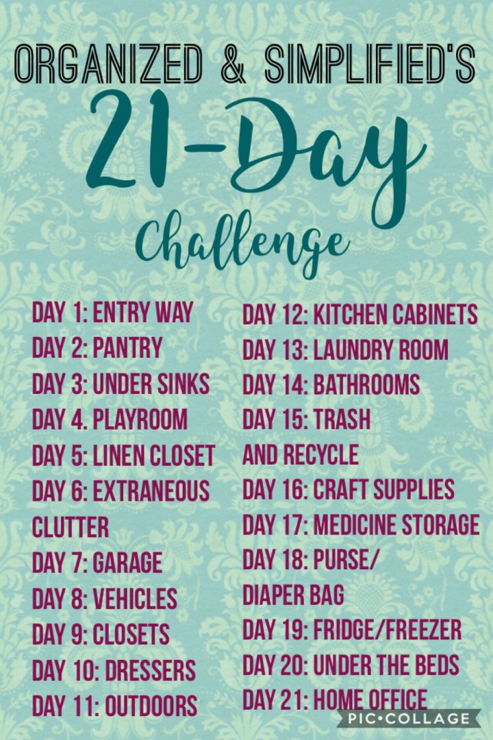 21-day challenge: an organized linen closet