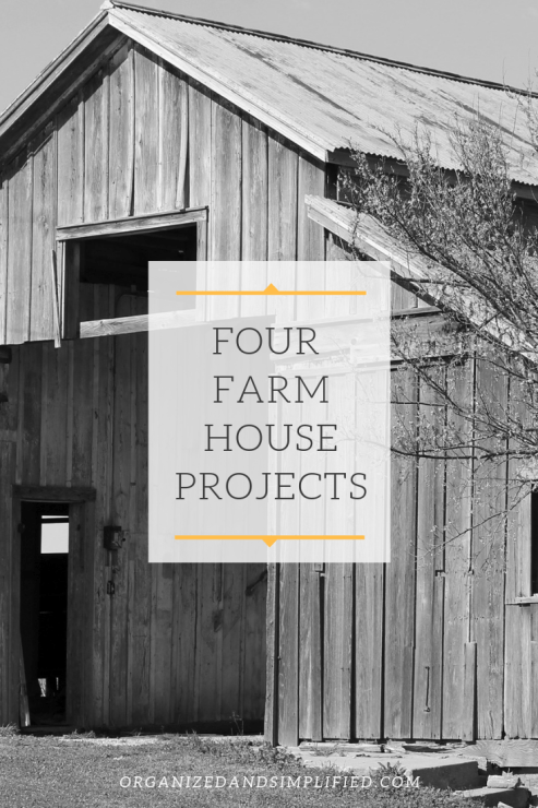 four farmhouse projects
