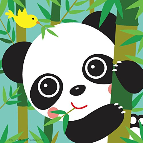 colour-talk-diy-oil-painting-paint-by-number-kits-for-kids-baby-panda-8-x8-framed-canvas__51yn3QotSFL