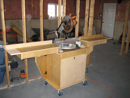 Mitre Saw Stand By Newfounlandwood