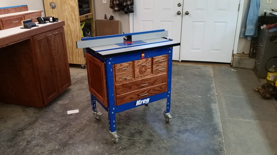 Kreg router table cabinet build looksisquare kreg router table build by greg1950 lumberjocks com keyboard keysfo Image collections