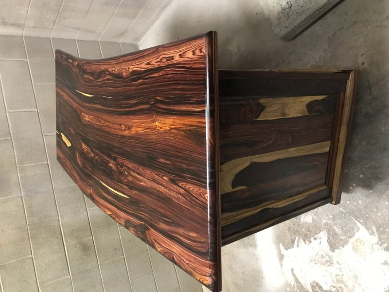 Cocobolo desk   by majors   LumberJocks com   woodworking community This is a cocobolo desk