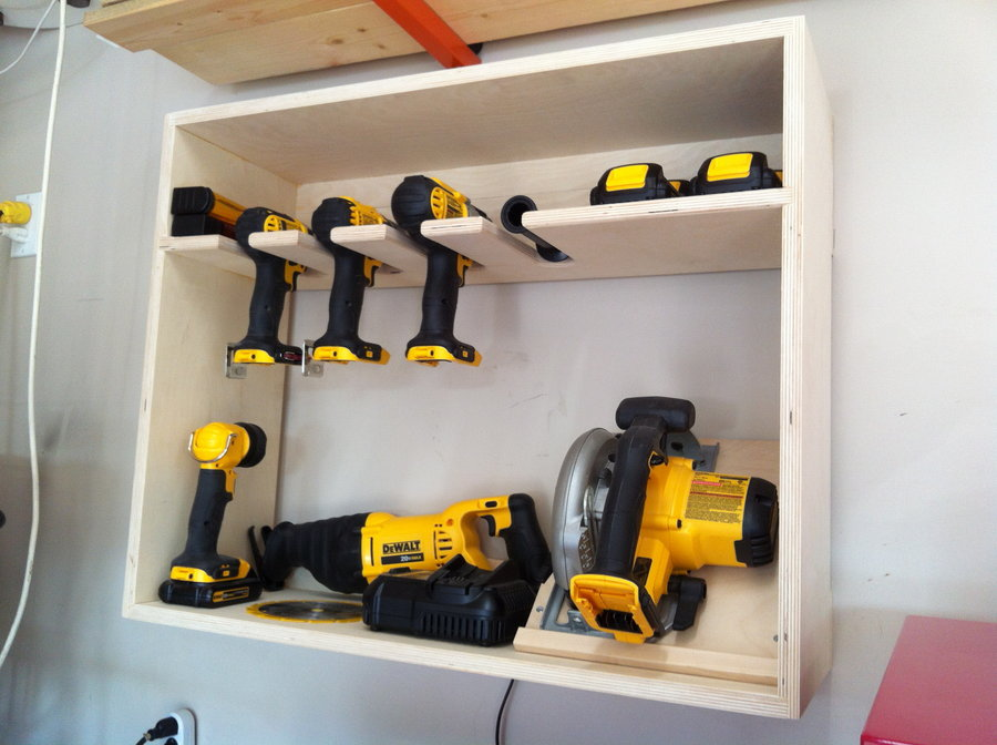 Power Cordless Cabinets Tools Wooden