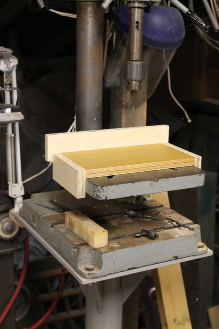 Sliding Drill Press Fence Jig By Markswoodcraft