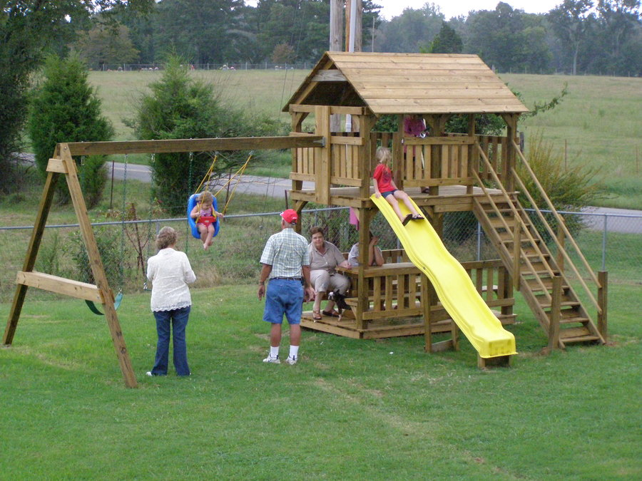 playhouse plans swing