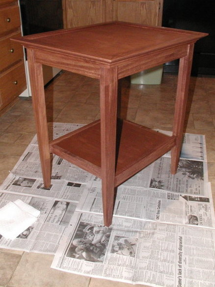 End Table From Wood Magazine Plan By Rwyoung