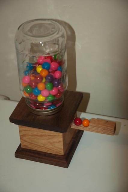 Wooden Gumball Machine Plans Plans Diy Free Download