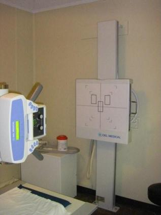 X-Ray equipment at Lumby Health Centre