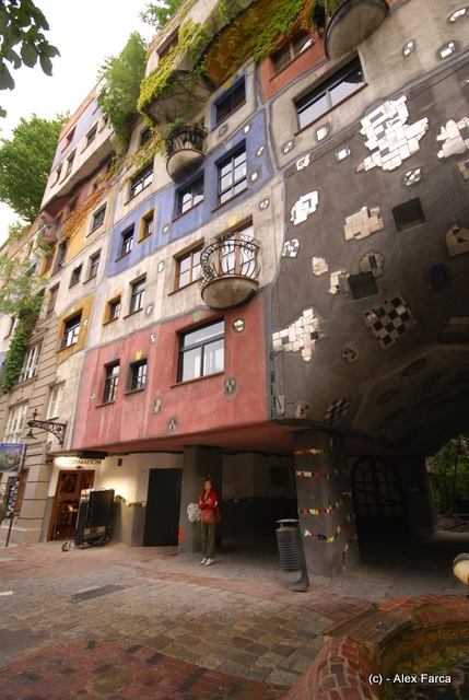 Viena, Hundertwasser