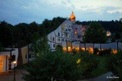 Bad Blumau - night view