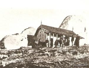 Cabana Vf. Omu construită în 1900