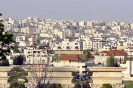 Amman vazut de sus, din gradinile de langa muzeu