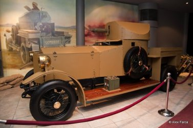 Rolls Royce - Armored Vehicle Replica 1915