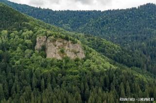 Priveliște de la Bastionul Apor
