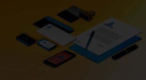 corporate brand identity creation for alga konsult