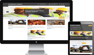 website design and development for coalesce global limited, Lagos