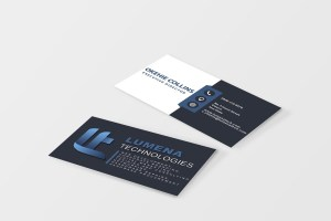 corporate branding business card design