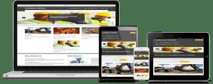 website design project for coalesce global limited