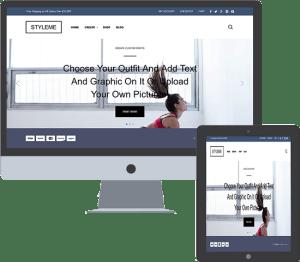 web design web development for styleMe