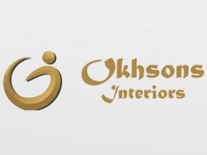 web design and corporate branding forOkhsons Interiors.
