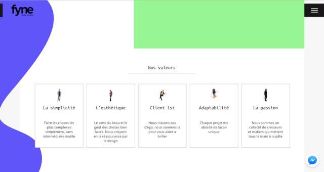 web design trends 2018 fluid shapes