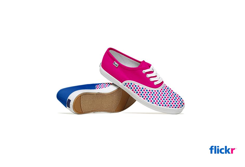 *Lumen Bigott設計的社群網站聯名鞋:Keds & Social Media 3