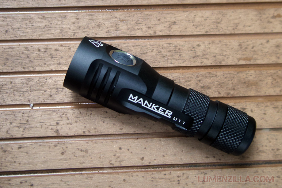 manker quinlan u11 flashlight 18650 1000 lumens
