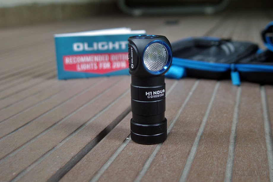 olight h1 nova close-up