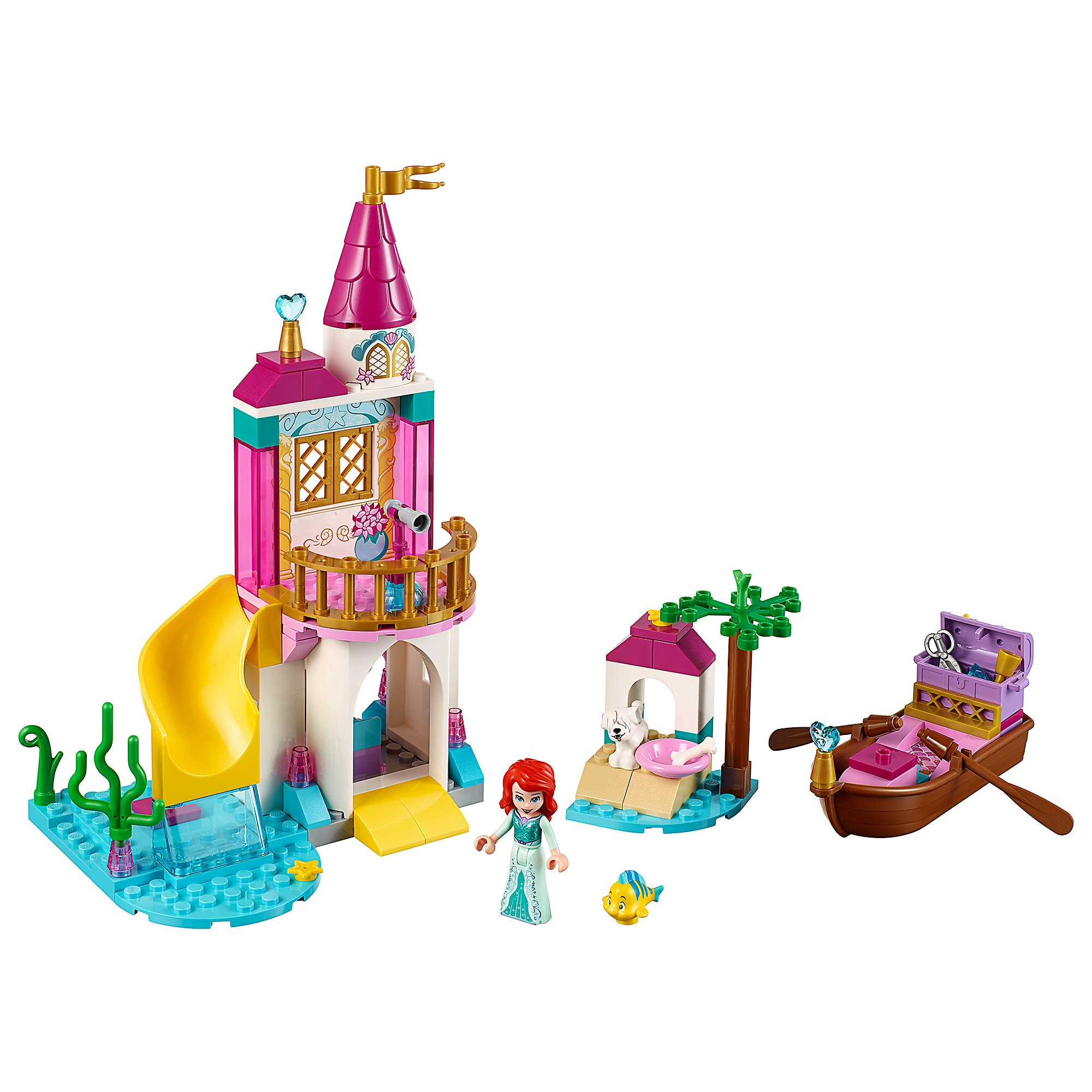 Ariel's Seaside Castle Playset by LEGO Official shopDisney