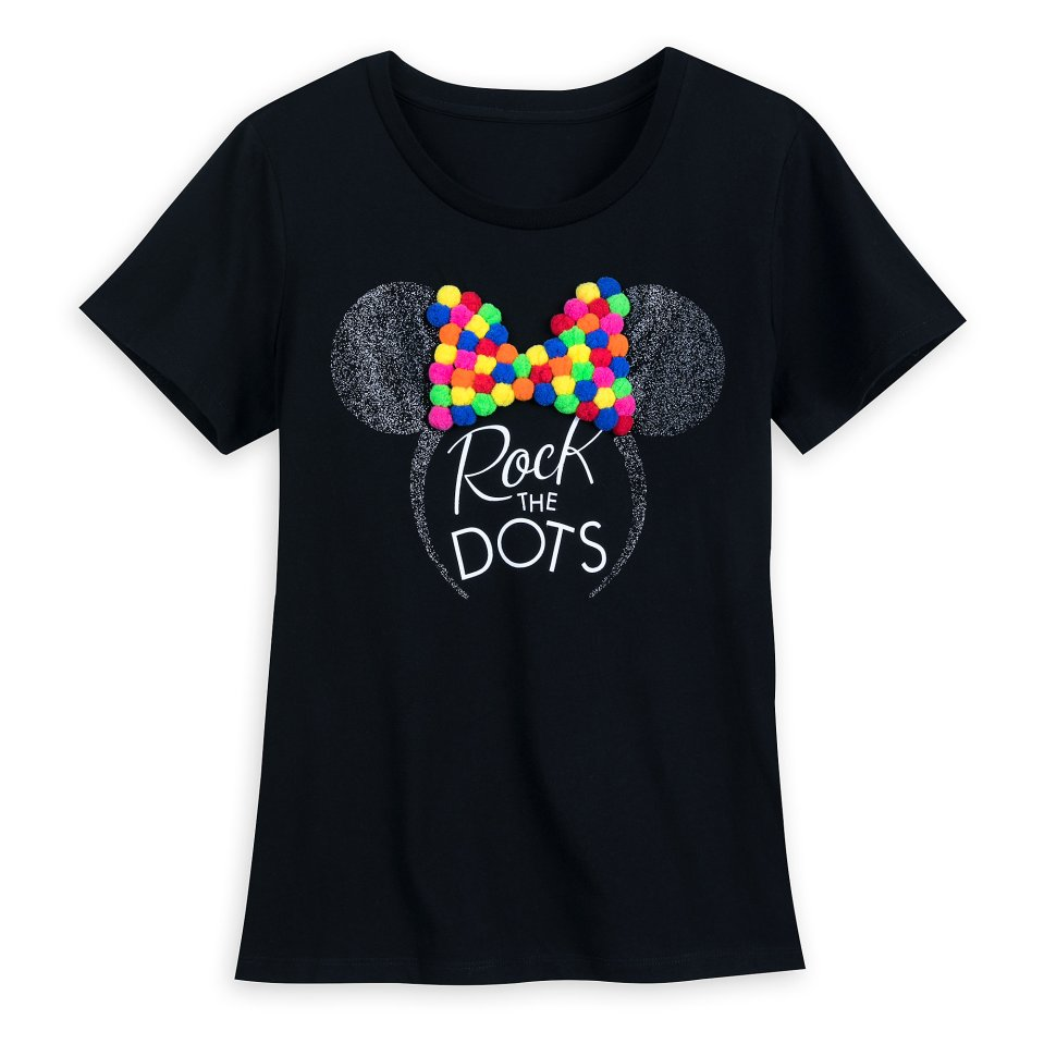 Product Image of Minnie Mouse Pom Pom T-Shirt for Women # 1