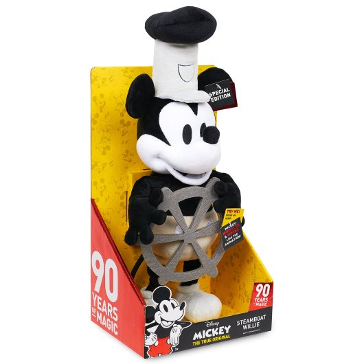 Image result for steamboat willie 90th anniversary plush