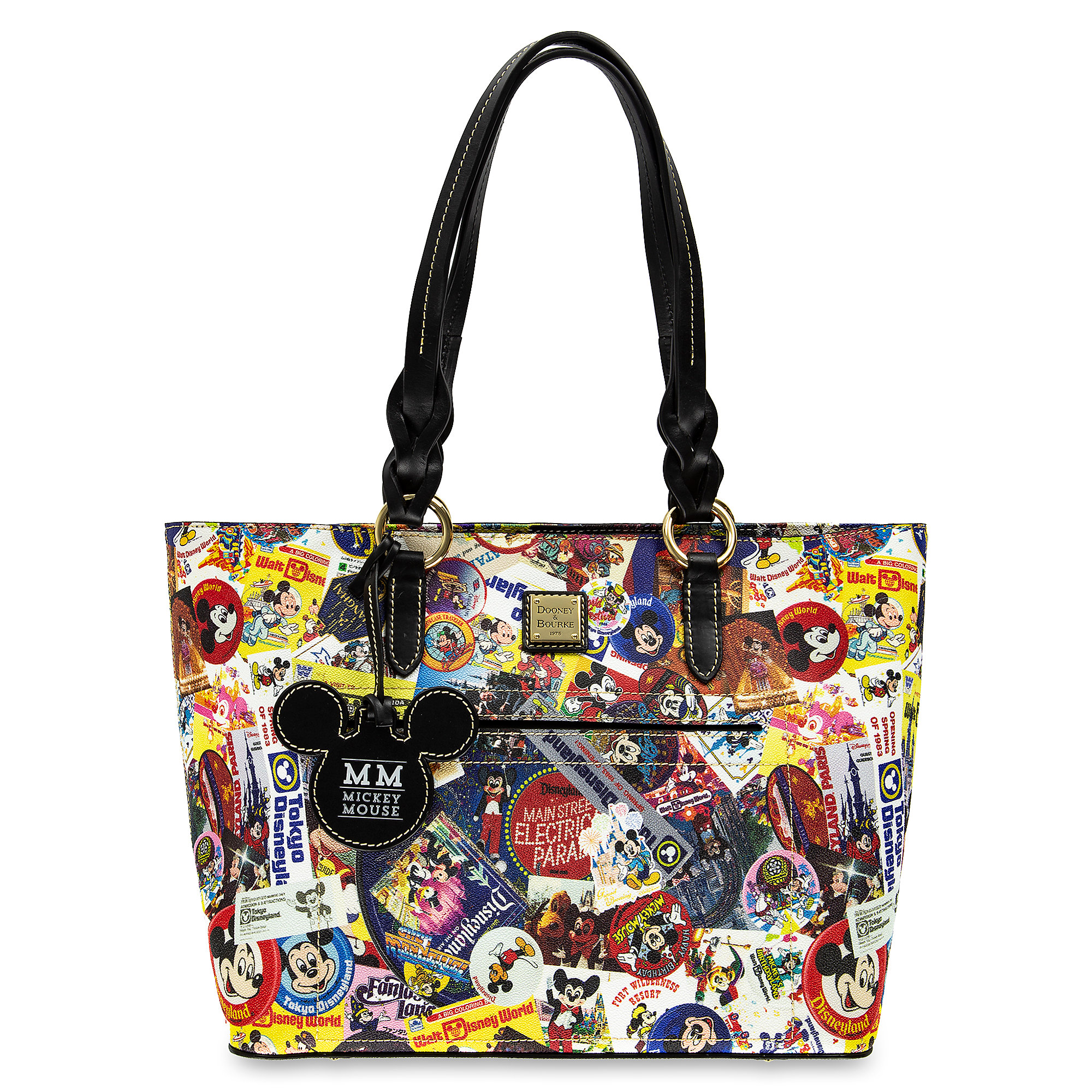 Mickey Mouse Tote Bag by Dooney & Bourke Official shopDisney
