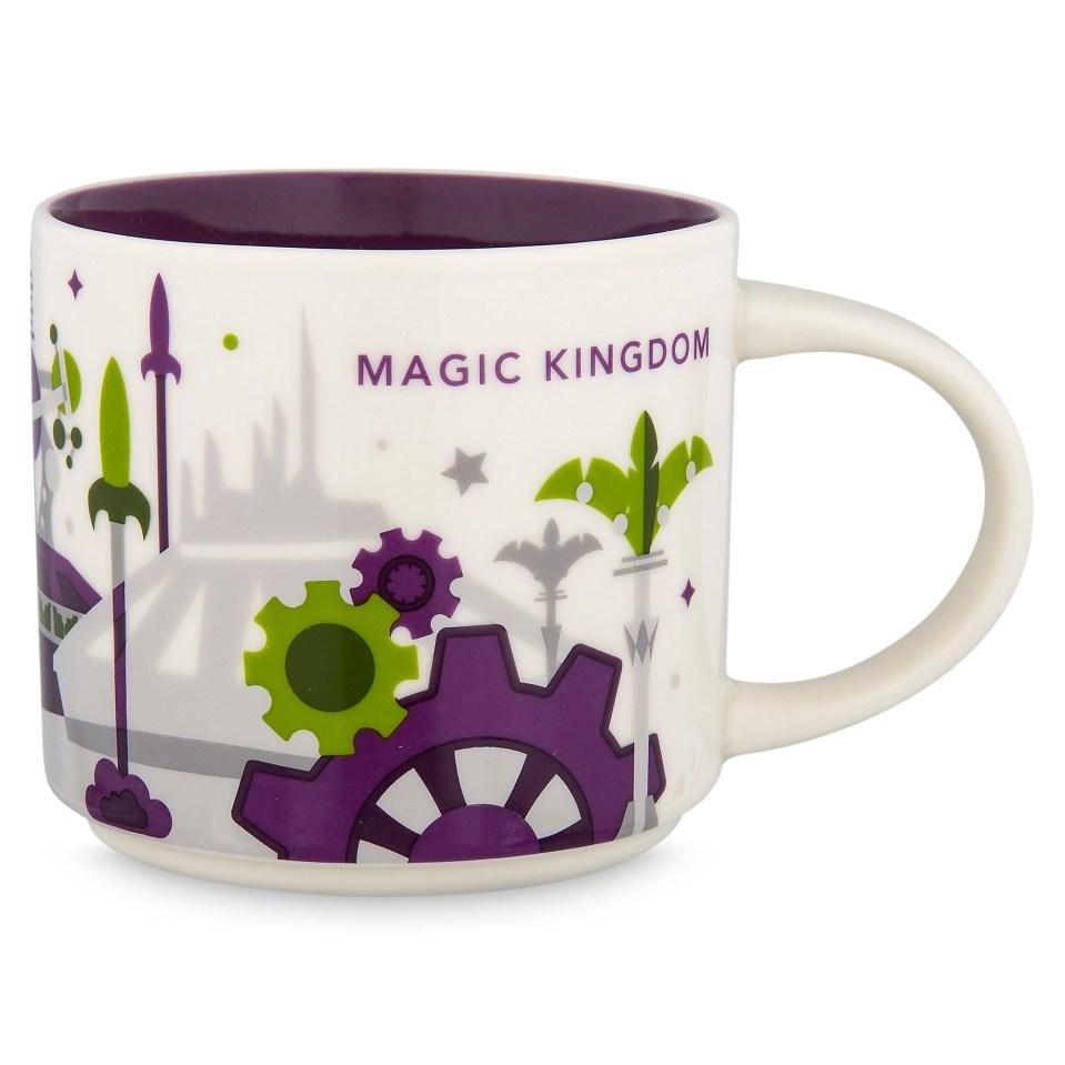 Product Image of Magic Kingdom Starbucks YOU ARE HERE Mug # 1
