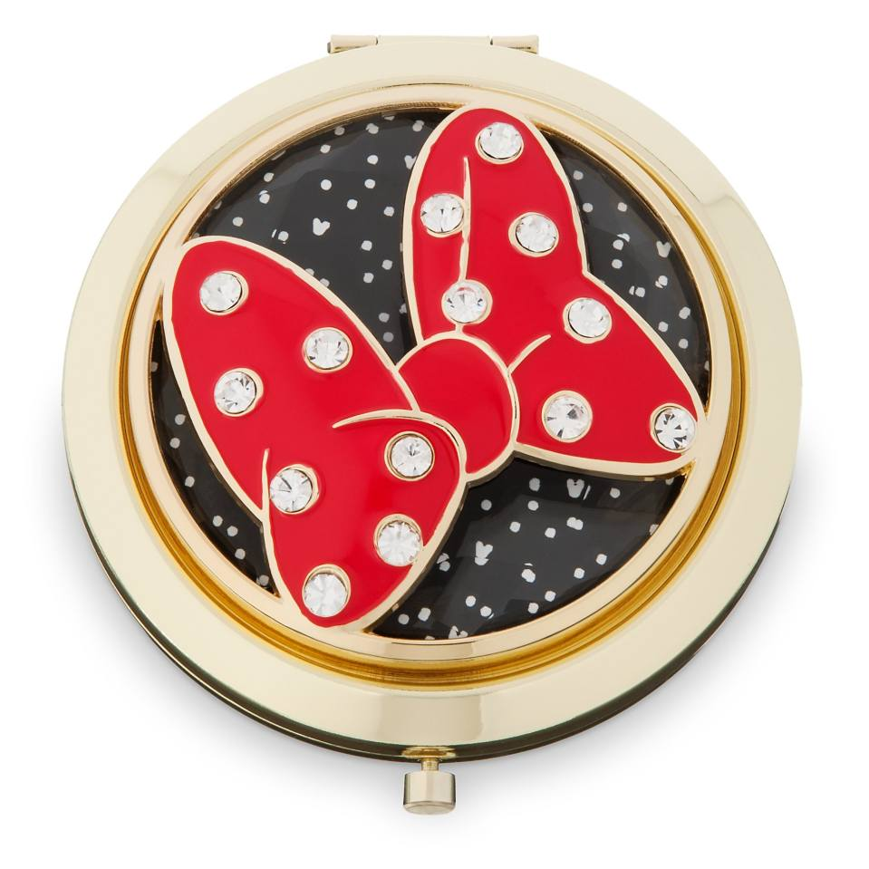 Product Image of Minnie Mouse Signature Glass Compact Mirror # 1