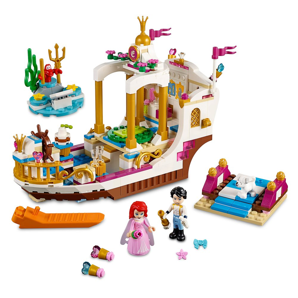 Ariel's Royal Celebration Boat Playset by LEGO Official shopDisney
