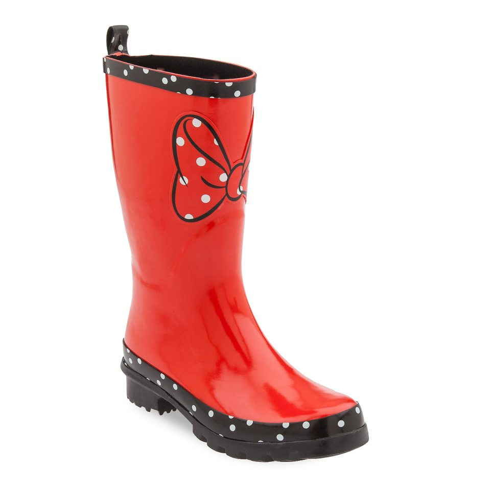 Product Image of Minnie Mouse Rainboots for Women # 1