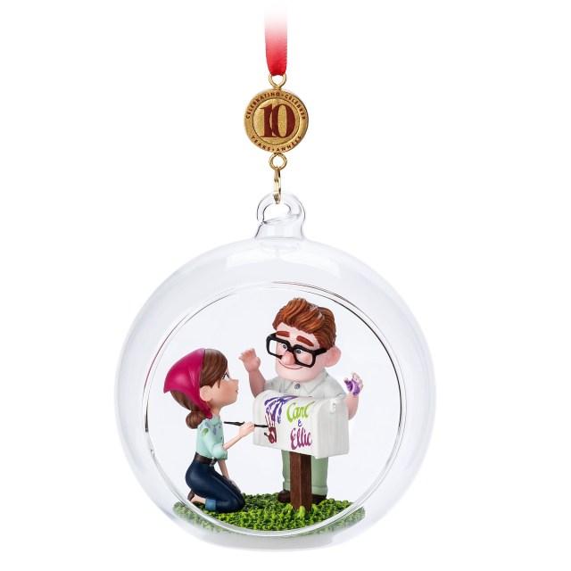 Carl and Ellie Legacy Sketchbook Ornament - Up - Limited Release Official shopDisney