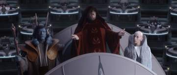 Image result for star wars senate emperor