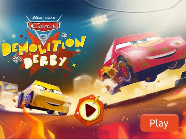 Demolition Derby   CARS 3   Disney Games   Malaysia We re sorry  this game is not supported on your browser