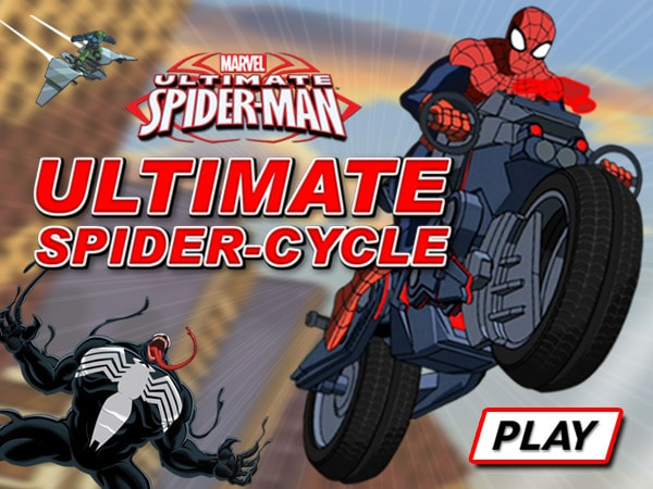 Ultimate Spider Man  Ultimate Spider Cycle   Disney LOL
