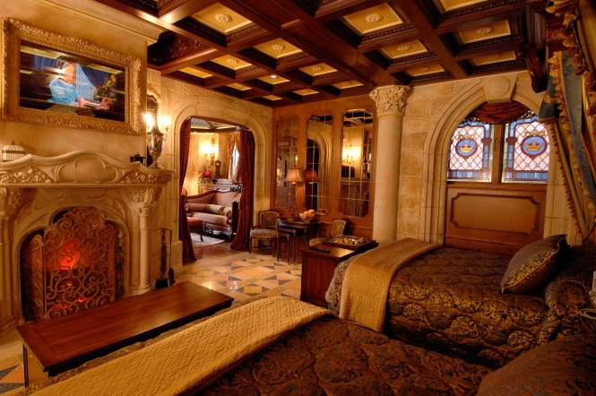 Rich Furnishings Fabrics Stained Glass And Other Ointments Lend A Regal Air To The