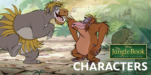 Jungle Book Characters Disney Australia Movies